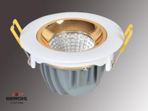 7W COB Dimmable Round Recessed LED Downlight 3 Years Warranty