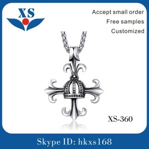 Cross Pendant Stainless Steel Jewelry Necklace Charms for Men pictures & photos