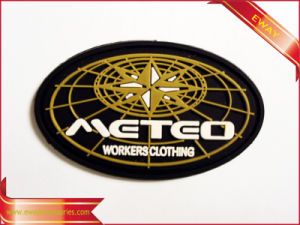 Shoes Rubber Label Adhesive Soft Rubber Label pictures & photos