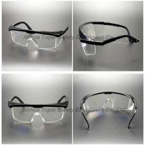 CE En166 Ajustable Temples Safety Protective Glasses (SG113) pictures & photos