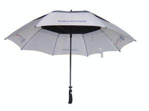 Double Layers Vent Golf Umbrella (GU024) pictures & photos