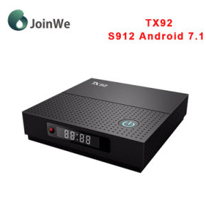 Android TV Box Tx92 with Amlogic S912 Androd 7.1 Set Top Box pictures & photos