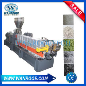 China Factory Parallel Twin Screw Masterbatch Granulator pictures & photos