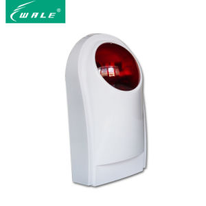 Big Size Wireless Lound and Flashing Strobe Siren for Alarm pictures & photos