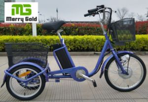 Pedal Assist Working Cargo Electric Tricycle pictures & photos