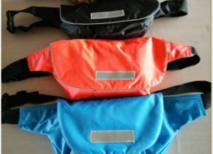 CCS Approved 600d Nylon Waterproof Fabric Inflatable Waist Life Jacket pictures & photos