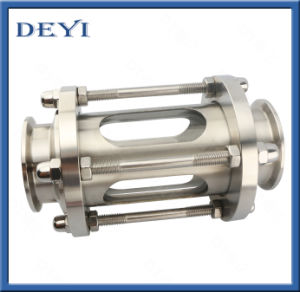 Stainless Steel Hygienic Sight Glass with Protective Sleeve pictures & photos