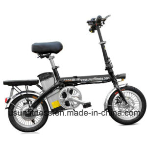 2018 Aluminum Alloy Folding E-Bike with 48V Lithium Battery pictures & photos