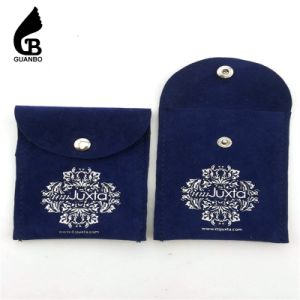 High-End Custom Drawing Velvet Jewelry Pouch pictures & photos