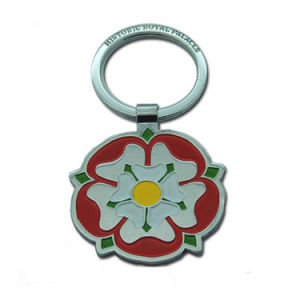 Customized Logo Soft Enamel Spin Key Chains for Gift pictures & photos
