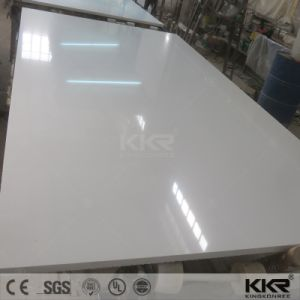 China Big Supplier Single Color Artificial Quartz Stone pictures & photos