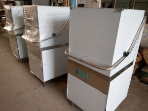 Cheering Commercial Stainless Steel Ultra High Temperature Dishwasher for Cleaning Conveyor Dishwasher pictures & photos