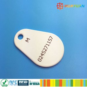 Highest Quality Luxurious EM4102 TK4100 T5577 ABS Keychain RFID Keyfob pictures & photos