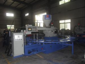 Rotary PVC Shoes Making Injection Moulding Machine pictures & photos