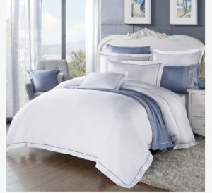 China Supplier Quality Comforter Set Cotton White Hotel Duvet Cover Set pictures & photos