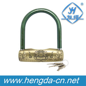 Yh1633 Combination Safety U Lock Bike Motorcycle Bicycle Lock pictures & photos