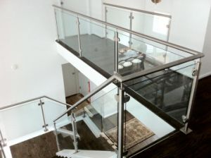 Interior Stair Railing Deck Railing Steel Pipe Railing Design