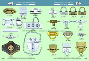 High Quality New Design Fashion Handbag Turn Lock pictures & photos
