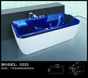 Luxury Massage Bathtub/Water Surfing Massage Bathtub/Acrylic Massage Tub (5225) pictures & photos