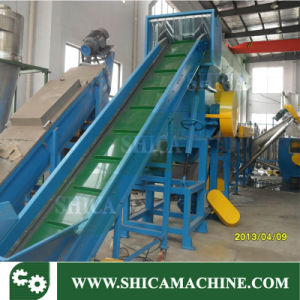 Single Screw Floating Washing Tank for Plastic Crushing Line pictures & photos