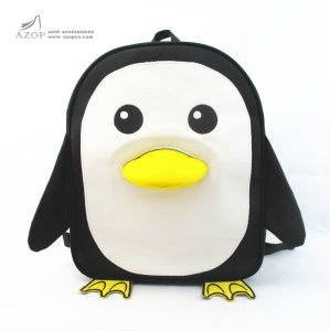 Cute Penguin Novelty Kid′s Backpack pictures & photos