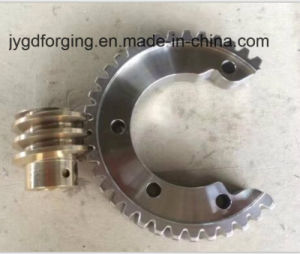 Forged SAE1045 F5 Spur Drive Shaft Gear pictures & photos