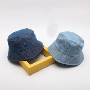 Fashion Denim Bucket Hat with Customed Logo pictures & photos