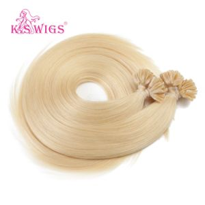 New Arrival Nail Hair Extension Indian Virgin Human Hair pictures & photos