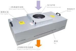Cleanroom FFU Fan Filter HEPA Unit Design FFU on The Ceiling of Cleanroom pictures & photos