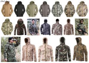 Tree Camo Winter Tactical Outdoor Waterproof Softshell Jacket pictures & photos