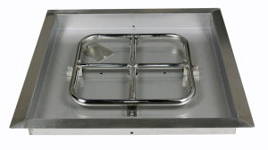 """18"""" Square Stainless Steel Drop in Fire Pit Pan pictures & photos"""