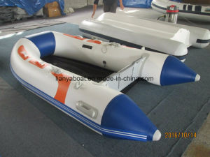 Liya 3.6m PVC Portable Inflatable Boat for Sale pictures & photos