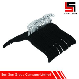 Wholesale Hangers Velvet, Non Slip Clothes Hanger pictures & photos