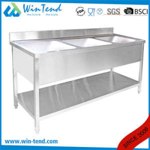 Commercial Stainless Steel Kitchen Wash Sink for Restaurant pictures & photos