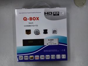 Digital HD Combo Receiver Qbox DVB-T2/S2 Combo Receiver pictures & photos