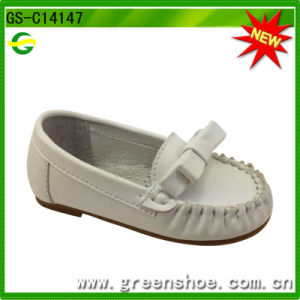 High Quality Soft Sole Leather Baby Shoe pictures & photos