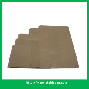 Flat Brown Paper Bag pictures & photos