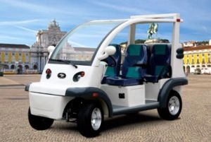 Electric Utility Car Utility Vehicle (DEL6042K, 4-Seater) pictures & photos