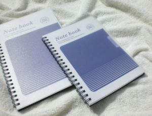 PP Cover Spiral Notebooks / Office Supply pictures & photos