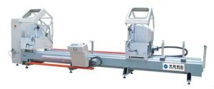Double-Head Precision Cutting Saw CNC for Alumiunm Window 3 pictures & photos