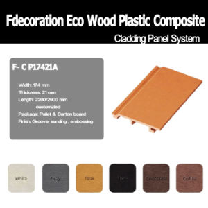 Waterproof Composite Decking Wood Outdoor Bpc Wall Panel
