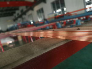 Copper Busbar for Electric Cabinet, Motor Connector and Transformers 1.6*6mm pictures & photos