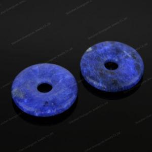 Natural Fashion Gemstone Donut Pendant Jewelry