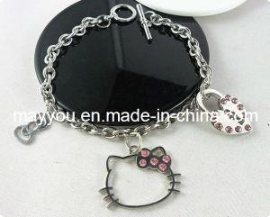 Fashion Jewelry- Hello Kitty Alloy Charm Bracelet