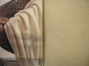 Cashmere Twill Throw pictures & photos