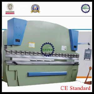 CNC Electric Hydraulic Synchronization Steel Plate Hydraulic Press Brake Machine WE67k pictures & photos
