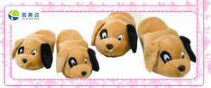 Cute Plush Dog Toy Roomslipper pictures & photos
