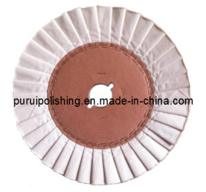 Pleated Cotton Buffs, Airway Cotton Buffs for Metal Polishing pictures & photos