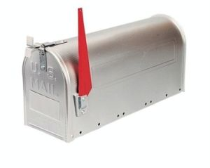 Mail Box -Metal Mail Tin Box with Solid Color Printing