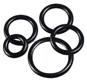 Black Rubber O-Rings with SGS ISO
